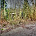 Overgrown Guardroom - Albuhera Barracks - B.A.O.R Werl