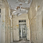 Cell corridoor - Albuhera Barracks - B.A.O.R Werl