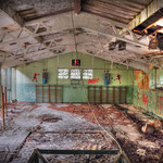 Inside the vandalised Gym - Albuhera Barracks - B.A.O.R Werl