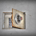 The Key safe nside the Guardroom - Vittoria Barracks - B.A.O.R Werl