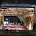 Looking through the projector hole in the Globe SSVC Cinema  - Albuhera Barracks - B.A.O.R Werl