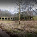 The remains of NAAFI Club - Albuhera Barracks - B.A.O.R Werl
