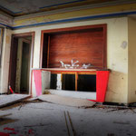 The Kiosk inside the Globe SSVC Cinema - Albuhera Barracks - B.A.O.R Werl