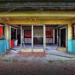 The Globe SSVC Cinema entrance -  Albuhera Barracks - B.A.O.R Werl