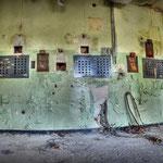 Inside the Globe SSVC Cinema Projector room - Albuhera Barracks - B.A.O.R Werl