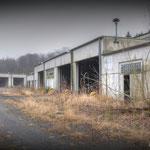 Road beside the Wksp hanger - Vittoria Barracks  B.A.O.R Werl