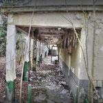 The Guardroom veranda - Albuhera Barracks - B.A.O.R Werl