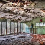 Inside the vandalised Gym - Albuhera Barracks - B.A.O.R Werl
