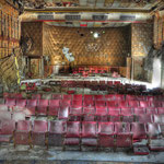 Inside the Globe SSVC Cinema - Albuhera Barracks - B.A.O.R Werl