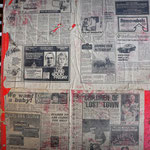 The Sixth Sense Newspaper dated Wednesday 29 July 1981 found glued to a board in the Quarter Masters Store? - Albuhera Barracks B.A.O.R Werl