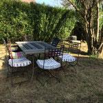 Le jardin Gite de l'Amandier