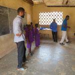 sensibilisation des élèves et élection des médiateurs et agents de prévention