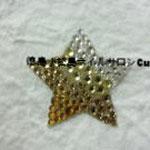 星(大) ガラスストーン使用 1296円(税込) サイズ3.5cm
