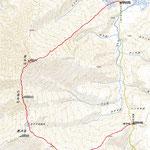 3日目(7月22日) 山ノ鼻~至仏山~鳩待峠GPS軌跡