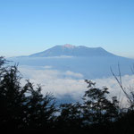 5合目金懸小屋からの御嶽山