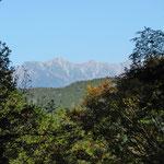 自由時間に訪れた向山コース途中より木曽駒ヶ岳