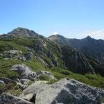 木曽前岳からの木曽駒、宝剣岳