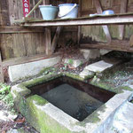廃村の水場