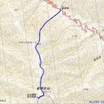 能郷白山地図