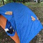 このテントの持ち主は?40年以上、持ち主と日本全国の山を共にする。