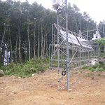 .余呉南越前ウィンドファーム,・風況観測塔.付帯設備[1]