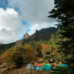 赤岳鉱泉テント場