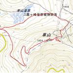 車山登山GPS軌跡