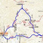 大菩薩峠地図