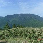 千両山から望む恵那山