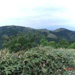 神坂山富士見台方面