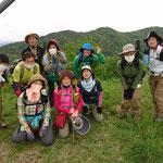 北箕作山(324.8m)山頂にて