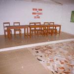Kuyon Forum als Versammlungsort: hier der Blick auf den Innenraum