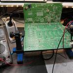 Funktionstest von BG1. Stromaufnahme der Einschaltelektronik 45mA.