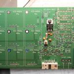 montierte DDS Baugruppe rechts unten auf der LO Frequenzaufbereitungsplatine