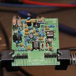 fertig aufgebauter CW Trägergenerator zur Generierung einer 9 Mhz Trägerfrequenz