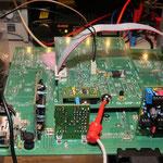 messen der geforderten DDS Frequenz (7,163 Mhz)