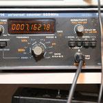die DDS Frequenz auf dem Frequenzzähler