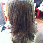 ロングヘアー 緩め 巻き髪