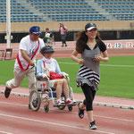 障害者と健常者が一緒に走るピポユニバーサルに参加