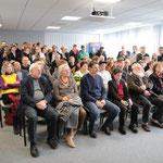 Knapp 100 Interessierte kamen in die Räumlichkeiten der Firma Eisen Trabandt