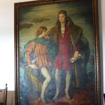 Columbus mit seinem Sohn