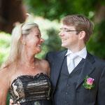 Der Bräutigam mit Jils Mama Kirsten