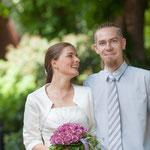 Die Braut mit Björns Bruder Sven