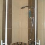 Cabine de douche quard de rond