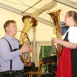 Schöne Töne vom Horn....