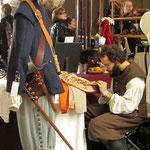 Tenue Louis XIII : Pourpoint et culotte en drap de laine.