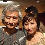 指揮者小澤征爾先生と
