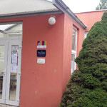 Колледж находится рядом с метро Budějovická