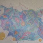 Der Mensch in seiner Ganzheit, 1992, 50x70cm