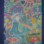 Leere Fragezeichen, 1990, 29x21cm